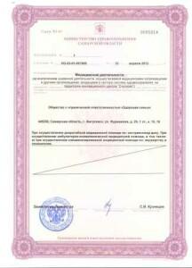 лицензия ОБОРОТ1